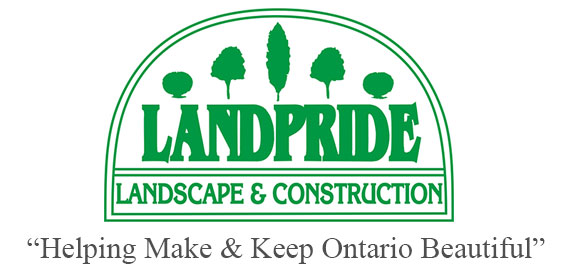 LandPride Landscape Construction Logo